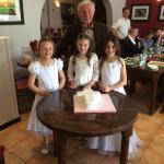 My daughters 1at holy communion   Amazing meal amazing place   Thank you Bruno! Xxxx