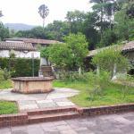 el patio central de la quinta