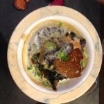 Fond d'artichaut avec champignon et maroille