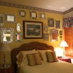 Bedroom of the Carriage House room