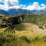 The Incan agricultural terraces at Moray