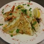 Fisch Teller Olive&Oregano