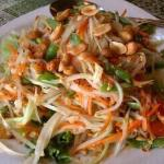 Papaya Salad - Ask for mild, big enough for 2/3 people