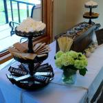 """They allowed us to set up our own """"s'more's bar"""" in the room"""