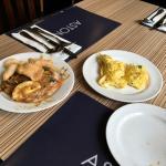 Breakfast and restaurant