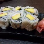 Mango Shrimp Sushi