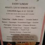 Mother's Day Brunch May 2016