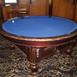 round pool table in the brunswick hotel