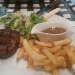 Delicious tender steak