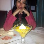 aamras with icecream