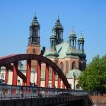 Most Jordana, Ostrów Tumski, Poznań