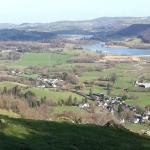 The village of Tal y Bont Conwy.
