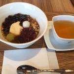 豆花と中国茶