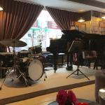 Café Laurent ready to the jazz concert