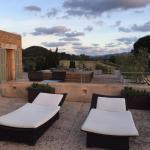 Private Terrasse der Luxury Suite