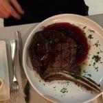 My date's Ribeye! Excellent cook