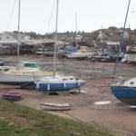 Boat yard at Exmouth