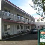 Motel from Lilooet Street (rear)
