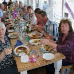 Roast dinner for a 70th Birthday celebration at a recent Sunday Lunchtime visit.