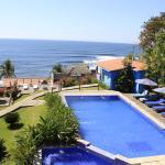 Resort's ocean view