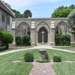 inner courtyard mausoleum