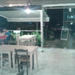 Άποψη του εσωτερικού του εστιατορίου.