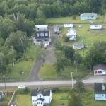 Lakeview Inn from the Air