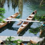 Canoe rental is a short walk