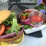 The Mushroom 'no Swiss' Veggie Burger