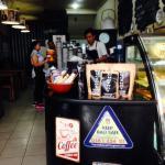 Mugshot coffee shop