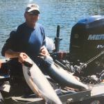King Salmon catch from Umpqua River