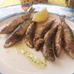 Sardinas a la parrilla - Restaurante La Clota (L'Escala-Girona)