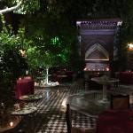 Ksar El Hamra courtyard