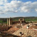 Vistas desde la casa del Doncel (junto a la hospederia)