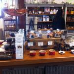 Some of the product range on display