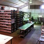Vase Virgin - the soap factory area