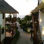 Strand und Aussicht aus Zimmer 9