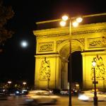 arc de triomphe nearby