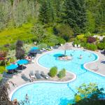 BC's largest outdoor seasonal free form swimming pool