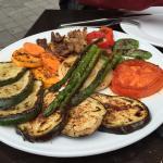 Parrillada de verduras riquísima por 8,50€