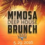 """$10 bottomless mimosas every SUNDAY at Crazy Goose (formerly Quality Social) for the new """"MIMOSA"""
