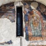 Cristo in gloria, affresco dell'XI secolo