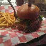 I never had a burger with a crabcake, but now it is my favorite