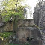 Burgruine in Oybin