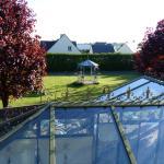 Verrière et jardin