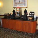 breakfast waffle station