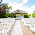Wedding garden ceremony