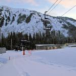 Early morning on the Porcupine Chair