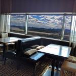 Executive Lounge with NYC Skyline views
