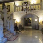 Lobby del Parador.